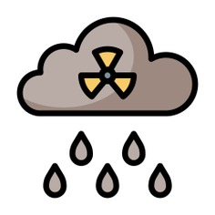 See more icon inspiration related to acid rain, ecology and environment, pollution, atomic, radiation, nuclear, industry, radioactive, energy and weather on Flaticon.