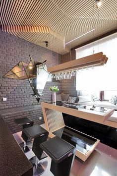 parametrix futuristic kitchen (1) #kitchen #design