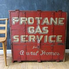 Three Potato Four - Protane Gas Service Cabinet