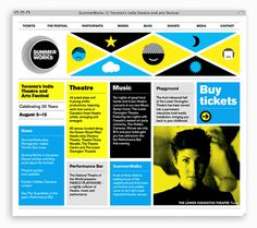 Monnet_Design_SummerWorks_2010_Website #bright #branding #design #monnet #website #grid #layout #web