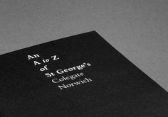 Matthew Hancock #hancock #george #church #click #book #the #st #matthew #booklet #norwich #editorial #typography