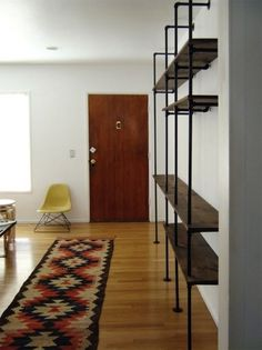 DIY: Shelving System from the Brick House : Remodelista #diy #shelving