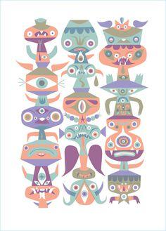 Calendar-Totem #tim #biskup