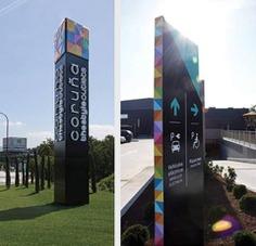 Wayfinding | Signage | Sign | Design | 购物中心导视牌