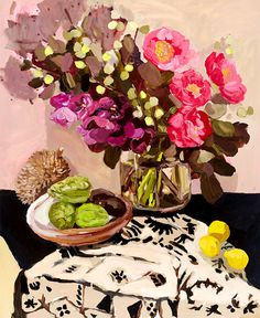 Still Life by Laura Jones - #art, #painting, #fineart
