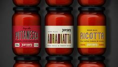 italian packaging and vintage typograpghy