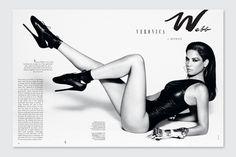 2c.jpg #spread #layout #blackwhite #magazine