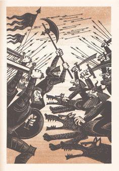9 #russian #soviet #illustration #vintage #hobbit