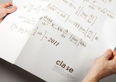 Clase bcn / clase bcn christmas #math #invitaiton #poster