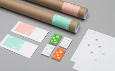 Tung - Ben Weeks Identity #business #card #print #head #tube #letter #stationery