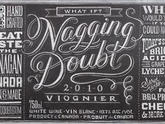 Dribbble - Nagging Doubt Viognier by Dana Tanamachi #illustration