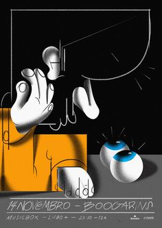 Bráulio Amado Boogarins, #Musicbox #Poster