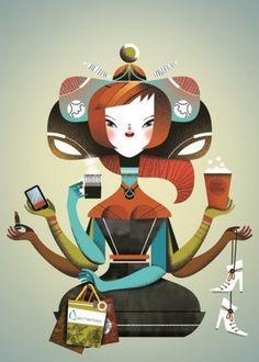 The Collective Loop: The Malota Projects #designer #illustrator #graphic #hernandez #malota #mar
