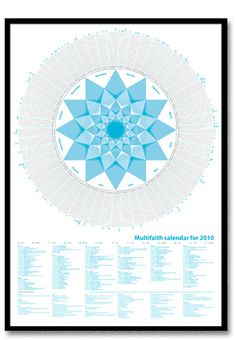 Multifaith calendar for 2010
