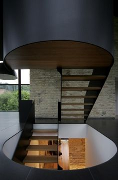 The Cool Hunter - Yellow Brick House - Vilnius, Lithuania #interior #staircase #architecture