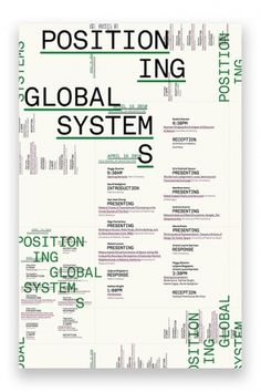 Global Positioning → Zak Klauck #poster