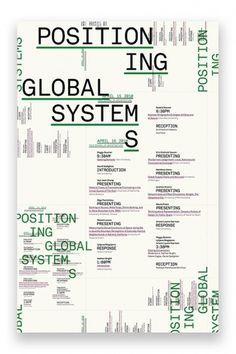 Global Positioning → Zak Klauck #poster