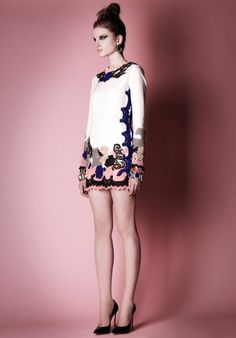 PLUME DE POULE #faded #color #pattern #dress