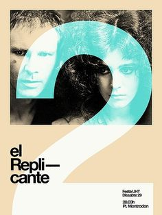 Merde! - Movie poster (el replicante 2nd concert /... #design #graphic