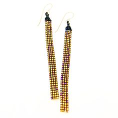 Cleopatra Tassel Earrings #earrings #jewelry