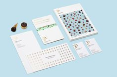 Bombonería Pons by Mucho #branding #colors #pastels #layout