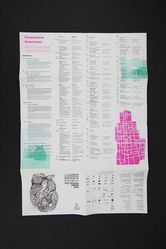 Lodz Design Festival 2012 #print #design #ortografika