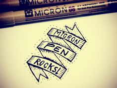 Micron #typography