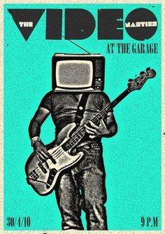 30 Amazing Gig Posters Sure to Inspire | 10Steps.SG #gig #poster
