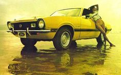 GIOR KONDUCTA #photography #girl #car #1970s