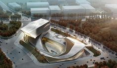 Dalian Library – Competition Proposal on the Behance Network #design #10