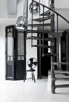 NORM.ARCHITECTS (Ambassadører)   BO BEDRE #interior #design #deco #stairs #fan #decoration
