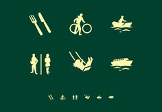 Thomas Le Bas #pictogram #icon #sign #wayfinding #picto #symbol