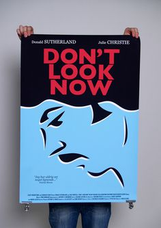 #movie #poster #dont #look #now #retro #double #vector
