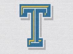 Dribbble - T Experiment by Brandon Moore #t #texture #letter #logo #typography
