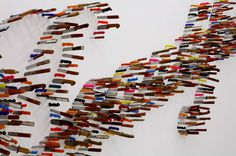 Knife Typography #knife #typeface #installation