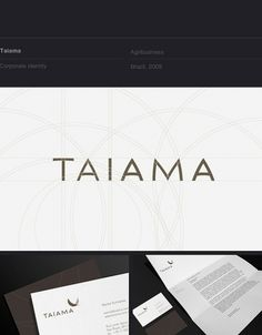 10 Corporate Identities on the Behance Network #identity #circles