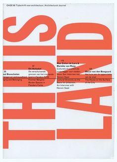 Grafik Mag | Karel Martens' OASE exhibition #martens #karel