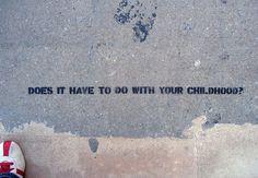 Sidewalk Psychiatry « Candy Chang #art