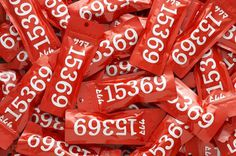 Designspirations #packets #red #typography