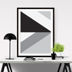Printable Geometric Art by #iloveprintable