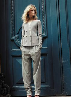 Hanne Gaby Odiele for Sonia Rykiel Resort Collection #model #girl #look #photography #fashion #style