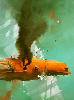 John Harris 697 #illustration #sci #fi