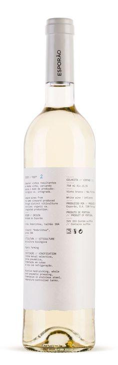 Esporão wine range | White Studio #white #range #wine #esporo #studio
