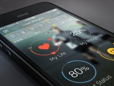 WIP fitness app