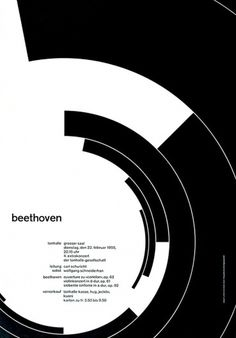 Joseph Müller-Brockmann : Design Is History #swiss #posters