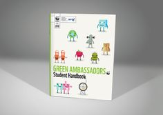 WWF Green Ambassadors #branding #design #illustration #wwf #ambassadors #character #green