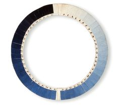18th century instrument to determine the sky's 'blueness' called a Cyanometer: The simple device was invented in 1789 by Swiss phys #pantone #gradient