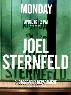 Joel Sternfeld and Richard Misrach Jessica Svendsen #typography #poster #photography