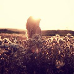 Art Photography by Moritz Aust (7) #photography #light #sun #woman #sunrise #field
