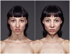 Symmeytrical Portraits : JULIAN WOLKENSTEIN #symmetry #photography #portrait